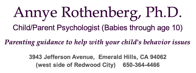 Parenting Counselor Annye Rothenberg